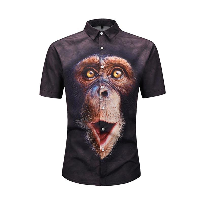 Analytisch Headbook Europa Größe 3d Shirts Männer Kurzarm Shirts Digital Print Raum Galaxy Rot Casual Tops Strand Shirts Ce901002