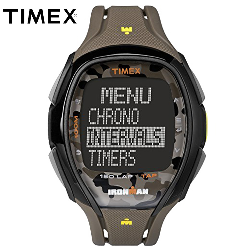 845e9219c 2018 For Timex Original Mens Watches Tw5m011 Ironman Sleek 150 Outdoor  Sport Multi-function Workout Running Alarm Digital Watch
