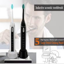 Ultrasonic intelligent Electric Toothbrush Fully Automatic Intelligent Adult Toothbrush Inductive Charging Waterproof konka electric toothbrush ultrasonic waterproof brushing smart timer deep clean mode wireless inductive charging toothbrush