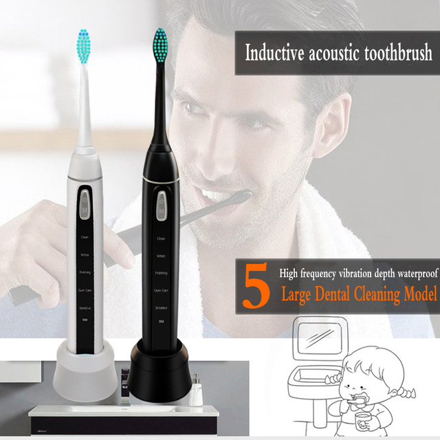 Ultrasonic intelligent Electric Toothbrush Fully Automatic Intelligent Adult Toothbrush Inductive Charging Waterproof