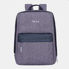 Новинка 2017 года xqxa бренд Модные женские туфли Рюкзак 15.6 дюймов ноутбук рюкзак Для женщин опрятный школьная сумка Оксфорд Повседневное Военное Дело Mochila