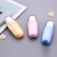 Nano Handy Mist Spray Facial Mister for Eyelash Extensions USB Rechargeable Mini Beauty Instrument with Spray Bottle