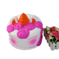 Adorable Squishies Kawaii Jumbo Cake Slow Rising Cream Scented Stress Relief Toy Stress Reliever Squeeze Toys for Children