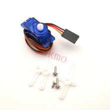 Free shipping 1Pcs Rc Mini Micro 9g 1.6KG Servo SG90 for RC 250 450 Helicopter Airplane Car Boat For Arduino