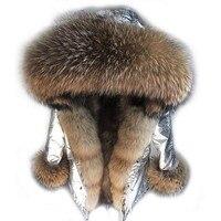 2017new fashion long winter jacket women outwear thick parkas real warm fox fur liner real natural raccoon fur collar coat hood