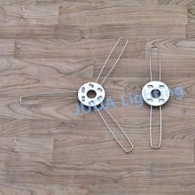 Lamp Cover Lamp Shade bracket E27 lamp holder clips M10 hole 2 forks 3 forks bracket for chandeliers led pendant ceiling lights(China)