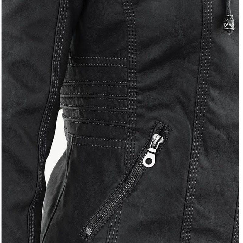 HTB1fgXSa1P2gK0jSZFoq6yuIVXa2 Faux Leather Jacket Women 2021 Basic Jacket Coat Female Winter Motorcycle Jacket Faux Leather Suede PU Zipper Hoodies Outerwear