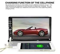 7018B Universal 7 Inch 2 DIN Car Audio Stereo Player Touch Screen Car Video MP5 Player