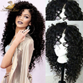 2016 New Arrival Virgin Brazilian Glueless  Human Hair Full Lace Wigs with Natural Looking Curly Lace Front Wig