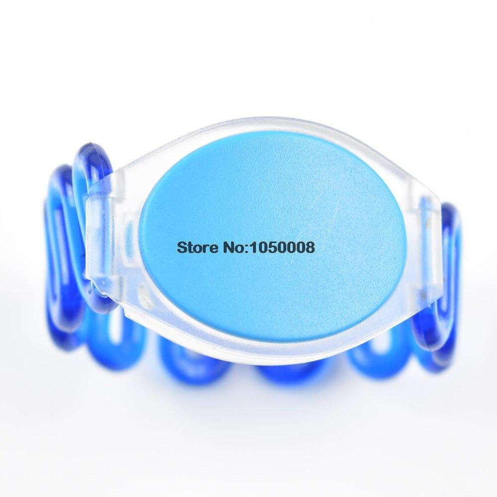 100pcs 125Khz RFID EM4305 Waterproof Proximity Rewritable Smart  Wristband Bracelet ID Card turck proximity switch bi2 g12sk an6x