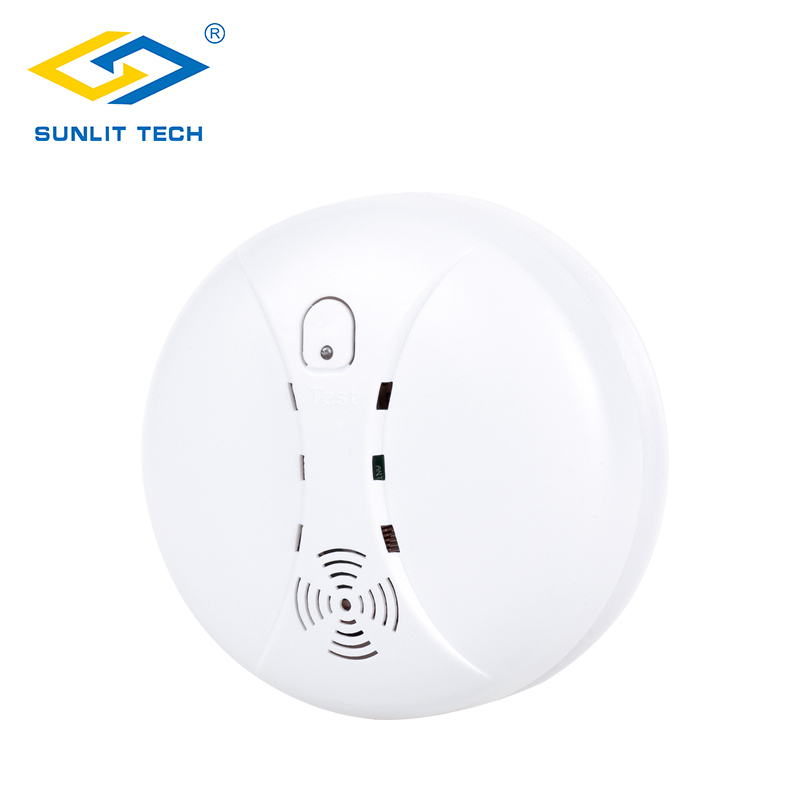 Wireless Fire Protection Smoke Detector Portable Alarm Sensor Tester for 433MHz WIFI GSM PSTN Office Home Security Alarm Systems yobang security home security alarm systems glass break sensor detector for g90b alarm panel 433mhz sensor for home protection
