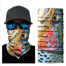 Biker Bandanas (5 pcs/lot) AC295-AC311 Outdoor Hat Cycling Turban Head Scarf Sports Face Mask