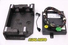 9W2 Bluetooth Módulo + Arnés Con Micrófono 1K8 035 730 D Para VW Golf MK6 Jetta MK5 RCD510 Fit