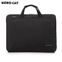 2017 kokocat Мода 15.6 дюймов ноутбук Водонепроницаемый ноутбук сумка для мужчин и женщин портфель день клатчи 6 цветов 1000