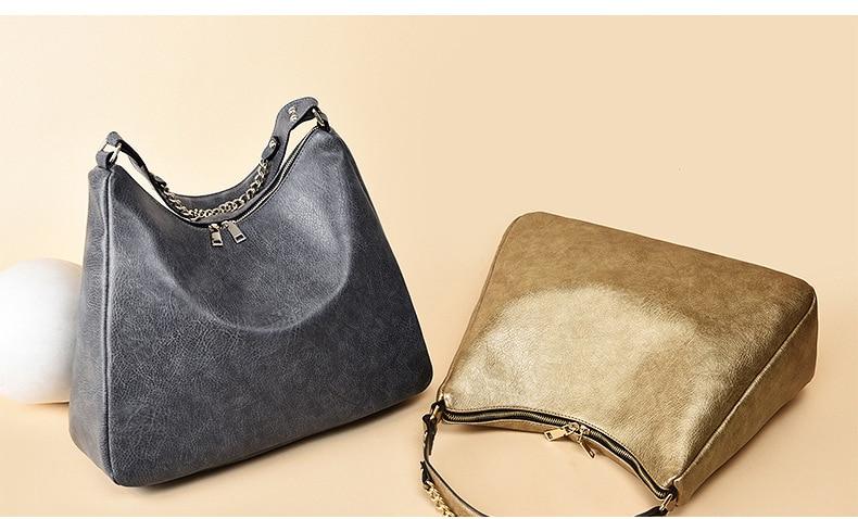 545021a4372ea ZMQN Women Bag Soft Leather Handbag Women Famous Brands 2018 Black Hobos Shoulder  Bags Female Casual Tote Big Bag Woman Sac A874