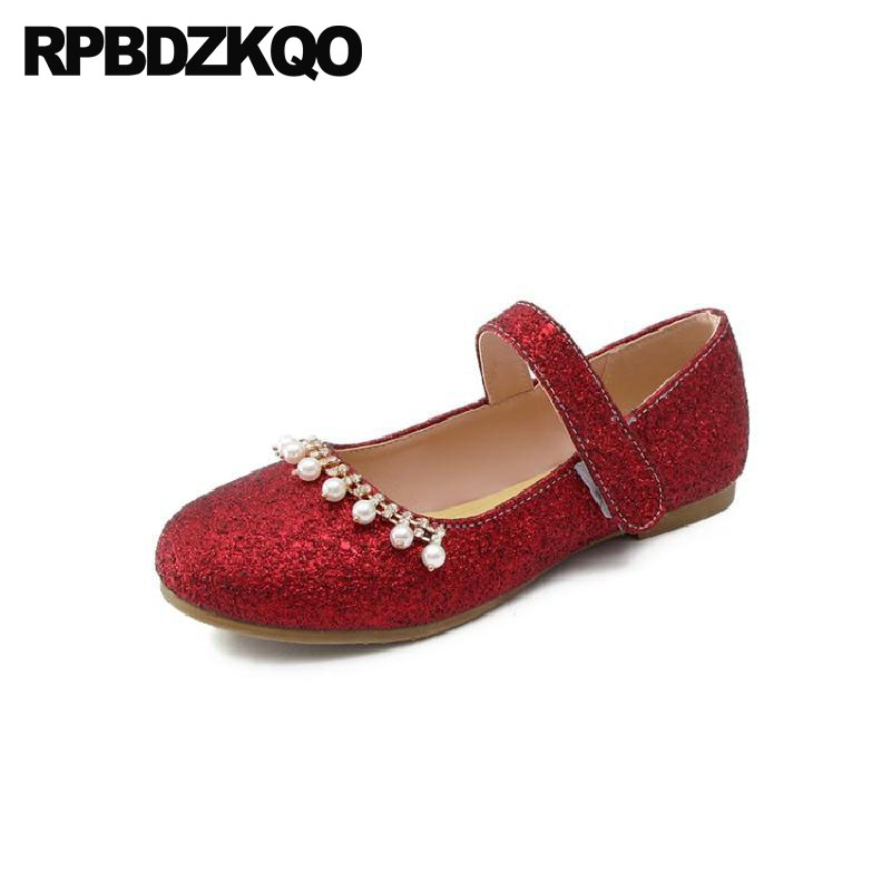 f14d30cb969ca 11 Red Wine Sequin Gold Autumn Spring Bling Sequins Single Shoes