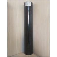 (50 cm x 25 M) PU Flex Colore Nero Trasferimento di Calore Del Vinile Per Abbigliamento PU Pellicola Del Vinile per T shirt Ferro su Vinile (20IN * 82.02FT)