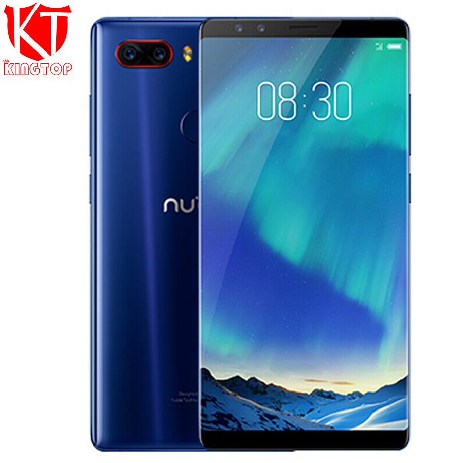 Original Nubia Z17S 4G LTE Mobile Phone 8GB RAM 128GB ROM 5 73 inch Android 7