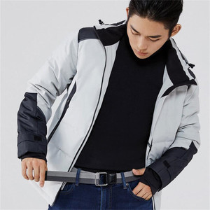 Image 5 - Youpin Qimian Fashion Elastic Fabric Sports Tactical Belt Double Ring Alloy Buckle Leather Rinforcement Comfortable Mens Belt