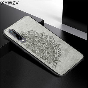 Image 1 - For Huawei P30 Case Shockproof Soft TPU Silicone Cloth Texture Hard PC Phone Case For Huawei P30 Back Cover Huawei P30 Fundas
