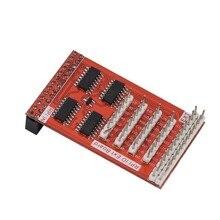 32 GPIO модуль расширения 8-битный Вход& Выход ввода-вывода Расширение адаптер модуль для Raspberry Pi