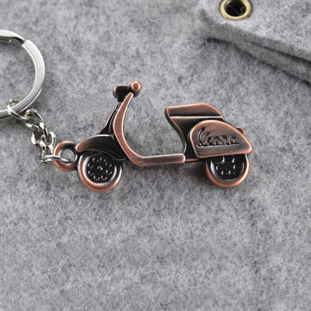 LNRRABC 2018 New Creative Motorcycle Scooter Car Key Ring Pendant Keychain Classic Unisex Gift Free Shipping