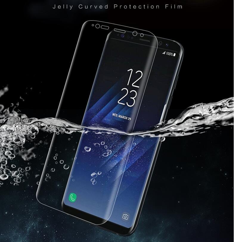 imágenes para 2017 Nueva Reutilizable Hidrogel Suave película de Pantalla Para Samsung Galaxy S8 plus/S8/S7/S7 Edge/S6 edge 100% Original con etiqueta de Anti-falsificación