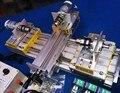 DIY мини Токарный Станок Горизонтального рабочего стола машина 3 маховик 2 двигатель полный набор бытовой деревянные части процесса