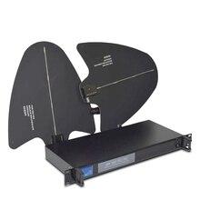 UA945 4 Canal Distribuidor Antena 500-950 MHz de Freqüência Para estender a 400 Metros Antena Direcional Microfone Sem Fio