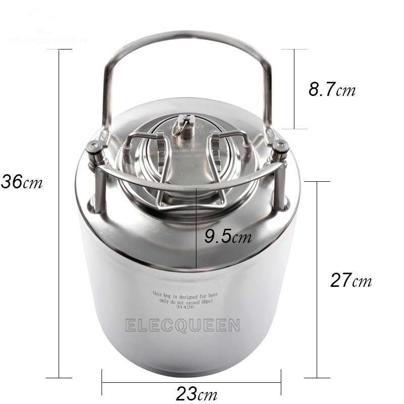 2,5 галлонов 10L термос Cornelius Keg Стиль Нержавеющаясталь пивной бочонок и пивной кран для пива и CO2 бочонок Зарядное устройство комплект, набор для приготовления напитков в домашних условиях