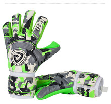 Outdoor Professional Goalie Gloves & Finger Protection Thickened 4mm Latex goalkeeper gloves Soccer Football janus professional goalie gloves with finger protection thickened 4mm latex goalkeeper gloves soccer football goal keeper gloves