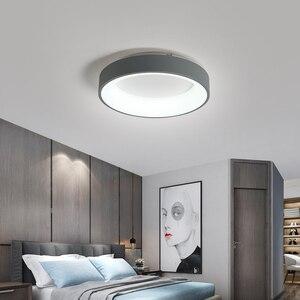 Image 5 - Plafonnier moderne en métal et acrylique, sortie dusine, éclairage décoratif de plafond, luminaire décoratif de plafond, idéal pour le salon, la chambre à coucher ou la maison, LED