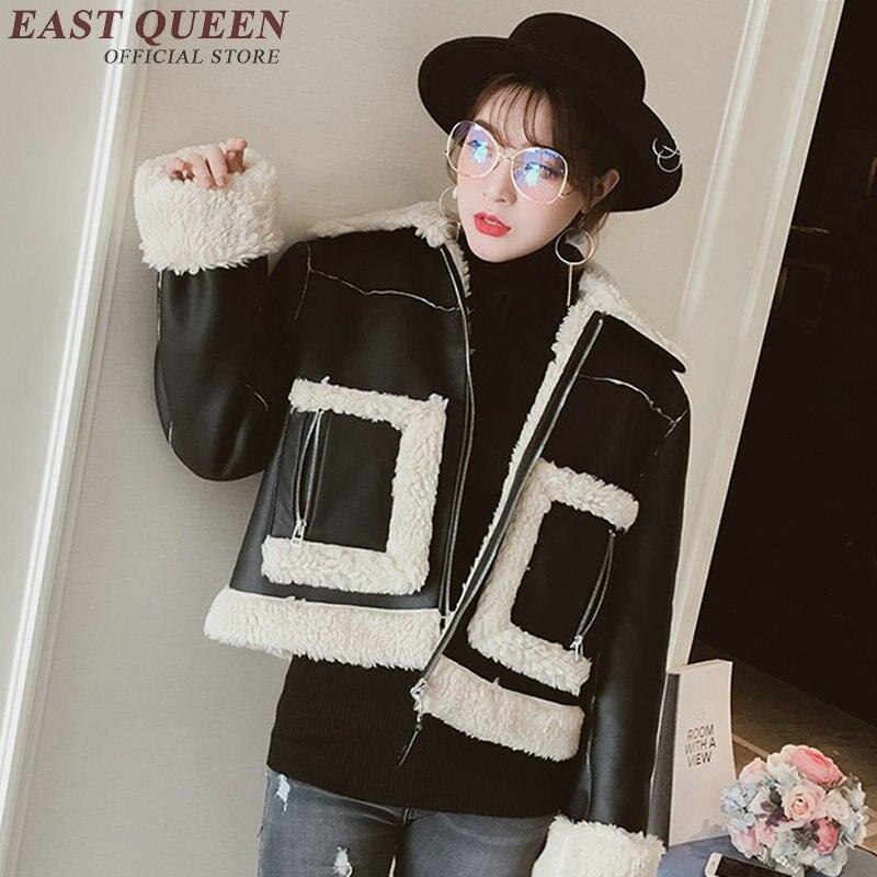 Vestes d'hiver pour femmes 2018 femmes bomber vestes 2018 mode automne hiver dames décontracté veste KK1809 H