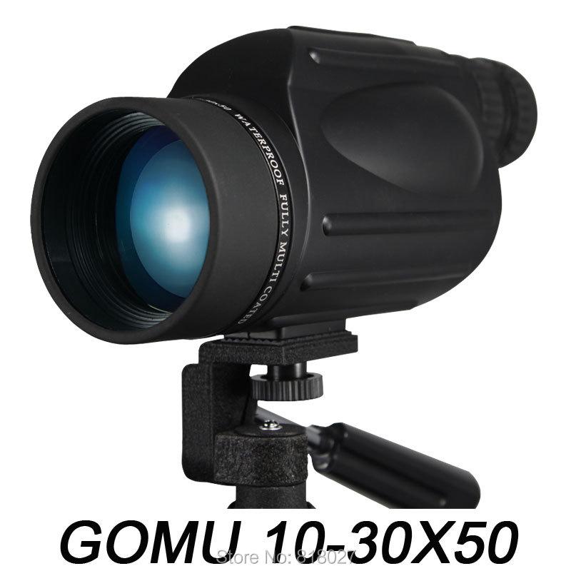 GOMU 10-30X50 böyüdücü monokulyar teleskop suya davamlı azotlu - Düşərgə və gəzinti - Fotoqrafiya 3