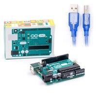 Arduino UNO R3 MEGA328P 100 Original ATMEGA16U2 With USB Cable