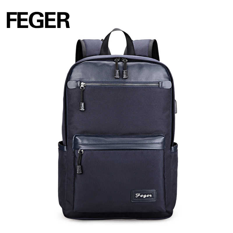 2763df6c3 2018 Promotion School Bags Mochilas School Bag Men Backpack Large Capacity  Student Bag Laptop For 14inches