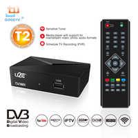 U2C HDMI TV Receiver Tuner Dvb T2 Wifi Usb2.0 Full HD 1080P Dvb-t2 Tuner TV Box Dvbt2 Built-in Russian Manual European Power Sup