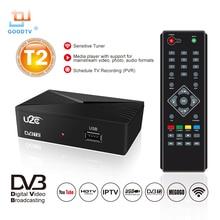 U2C HDMI TV Receiver Tuner Dvb T2 Wifi Usb2.0 Full HD 1080P Dvb-t2 Box Dvbt2 Built-in Russian Manual European Power Sup