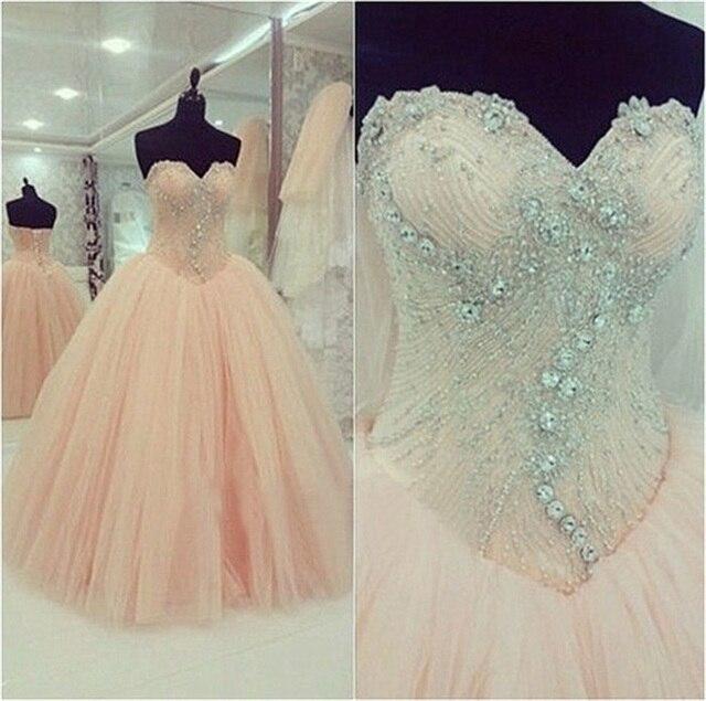 Cuadro Verdadero Blush Pink Baratos Vestidos Quincea 241 Era