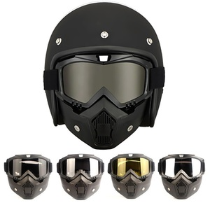 Motorcycle Face Mask Goggles H