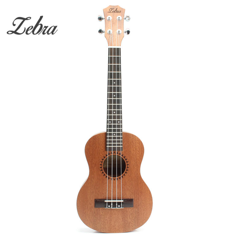 New High Quality 26Inch  Ukulele Hawaii Mini Guitar 4 Strings 18 Frets Uke Brown Rosewood Instrument Ukelele Gift