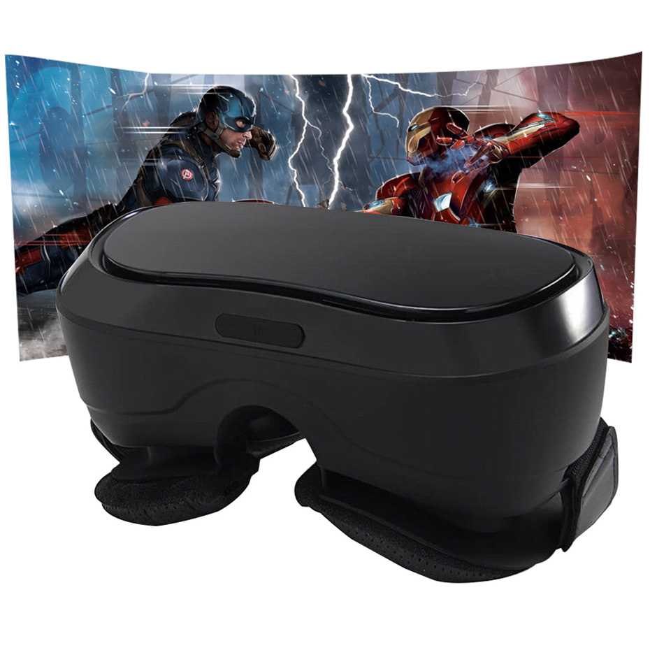 VR Box 3D Glasses Virtual Reality Goggles for PS 4 Xbox 360 Xbox One 2560*1440 P Display HDMI Android 5.1 All in one VR Headset all in one