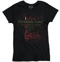 Christmas Carol Cute Humor Funny Christmas Gift Ideas XMAS Ladies T Shirt Women Brand Tops Tee