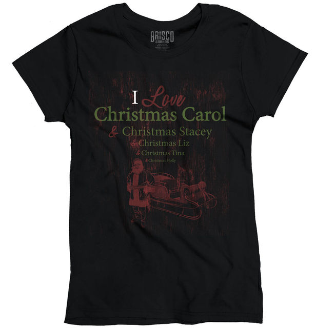 christmas carol cute humor funny christmas gift ideas xmas ladies t shirt women brand tops
