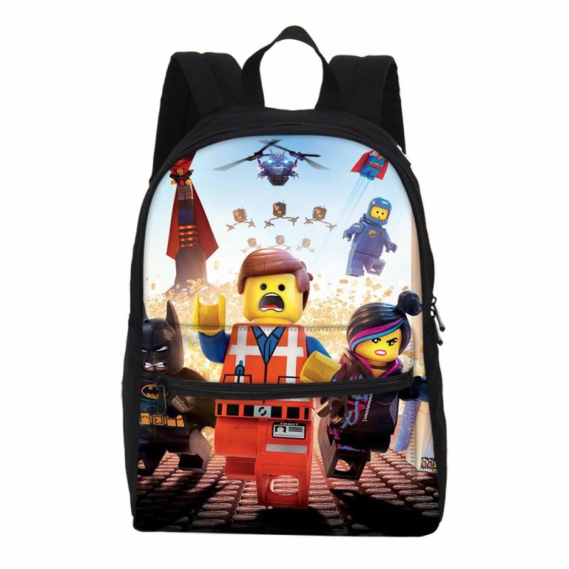 Casual School Bags For Teen Girls Boys Cartoon Ninjago Bookbag Shoulder 3d Backpacks Laptop School Supplies Backpack Rucksack Beautiful In Colour Luggage & Bags