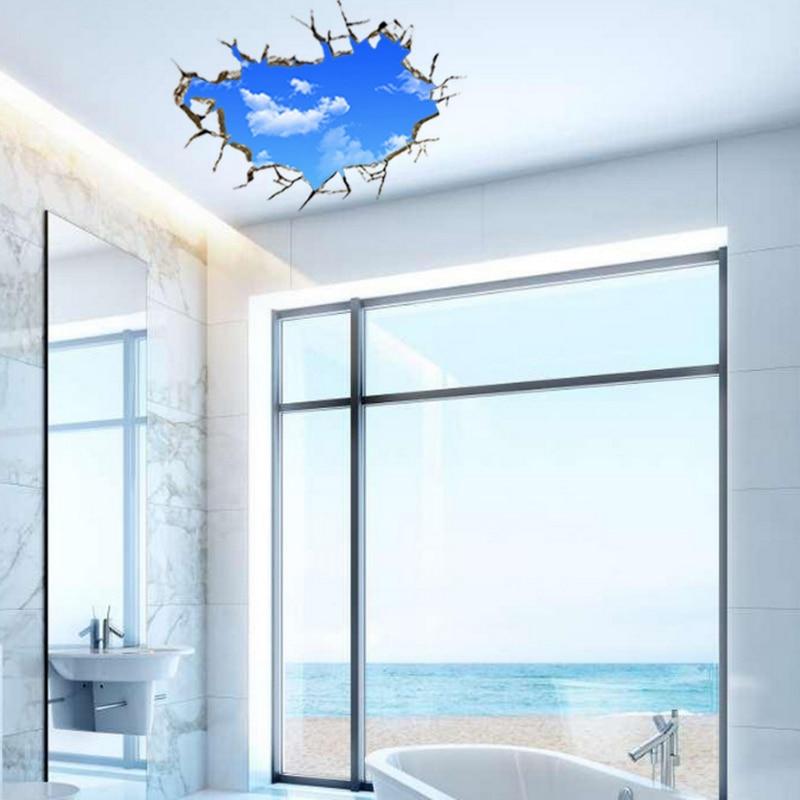 3D Himmel Wolken Decke Aufkleber PVC Material Wandaufkleber Für ...