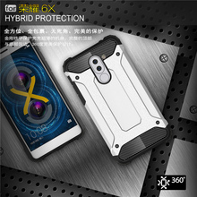 ZIHFONE sFor Cover Huawei Honor 6X Case Shockproof Armor Back TPU & PC Phone For Honor6X 5.5''