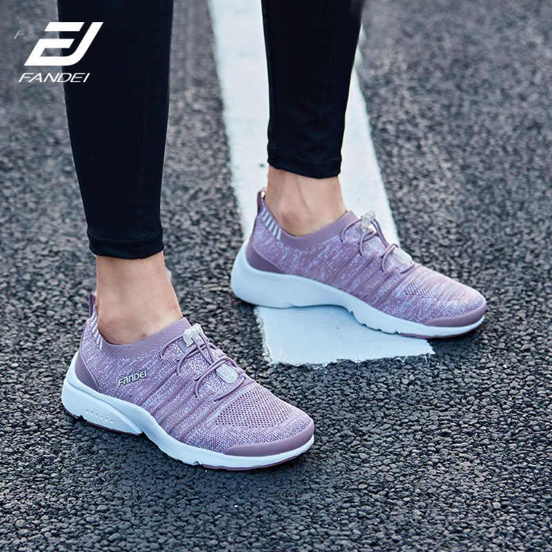 b0df54d16765 женские кроссовки зимние FANDEI мужские кросовки mesh breathable running  shoes для мужчин спортивная обувь для мужчин