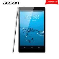 המקורי Aoson M812 דק במיוחד 8 inch אנדרואיד Tablet 1 GB RAM לוחות מחשב IPS Allwinner A33 סוכרייה על מקל 16 GB ROM Quad Core Bluetooth