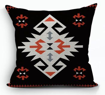 Black Kilim Cushion Cove